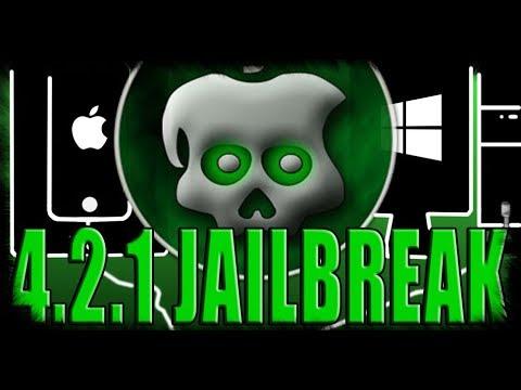 iOS 4.2.1 JAILBREAK!! GREENPOIS0N!! 2017!!