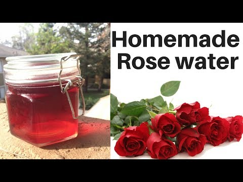 How to make natural Rose water at Home in Hindi   Anti-wrinkle & pimple Rose Toner   AVNI