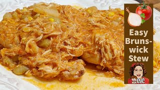 How to Make an Easy Brunswick Stew, Southern Cooking with CVC
