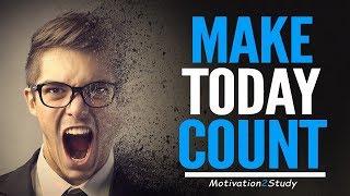 MAKE TODAY COUNT - Powerful Study Motivation (Ft. Jaret Grossman)
