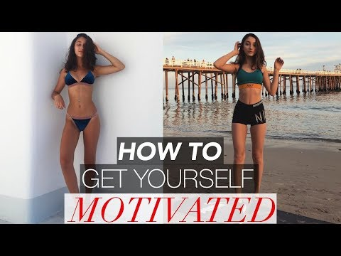 HOW TO GET YOURSELF MOTIVATED | Fitness Q+A