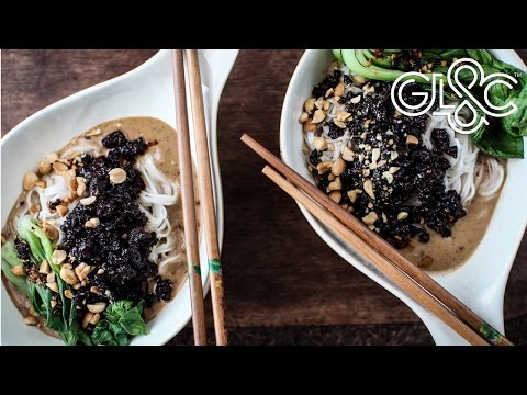Spicy Chinese Sesame Noodles | GLAC