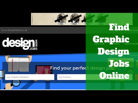 Find Entry Level Graphic Design Jobs on these Popular Sites