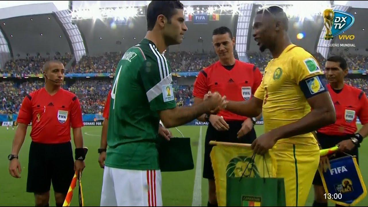 México vs Camerún - Mundial 2014 - Partido completo