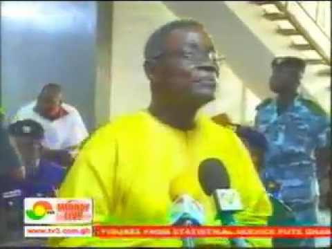 GHANAIAN PRESIDENT ATTACKED CORRUPTION IN GHANA