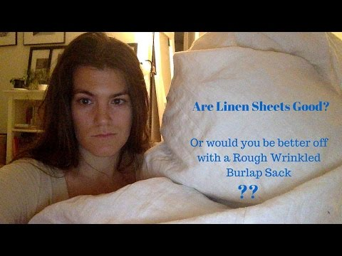 Should You Get Linen Sheets? Are They Worth it? Review of My Rough Linen Sheets