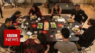 Can Chinese Americans solve differences over dinner? - BBC News