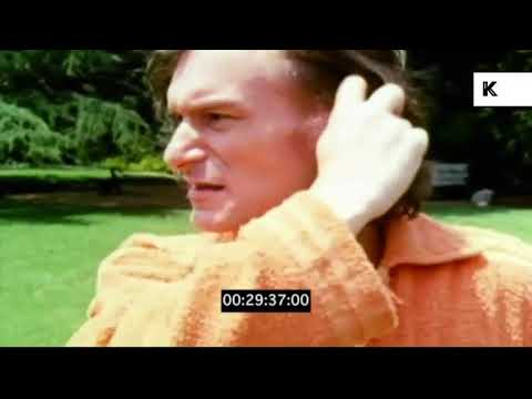 1970s Hugh Hefner Tour Playboy Mansion Gardens | Kinolibrary
