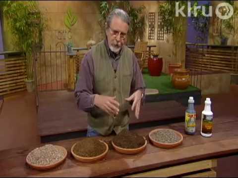 John improves soil::  Central Texas Gardener