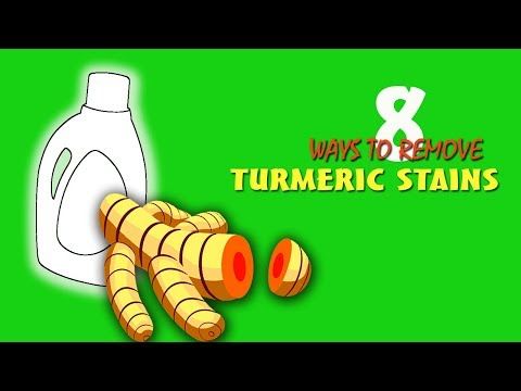 Ways To Remove Turmeric Stains With Easy Step