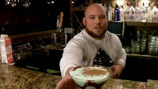 """Want to drink your favorite ice cream flavor, and get a little buzz? Well now you can! Luke is back with a extra special holiday drink, """"the"""" Mint Chocolate Chip martini. This drink will go down faster than a prosta....well you it goes down fast is all we"""