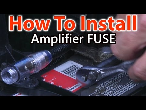 How To Wire A Fuse for Car Amplifier