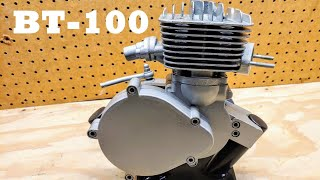BT100 from JLZeda! The newest bike engine on the market. Let's take it apart and see what's inside!