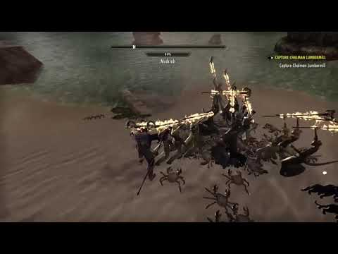 ESO - Bots harvesting crabs (XBOX 1)