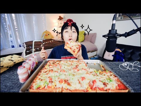 Easy Pizza Toast Recipe Mukbang (피자토스트먹방)| KEEMI★