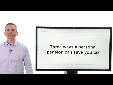 Three ways a personal pension can save you tax