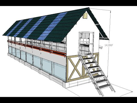 Odorless Chicken Composting Coop Design by MADE