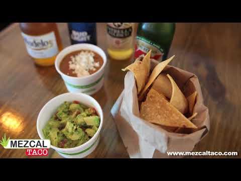 Chips & Dips at Mezcal Taco