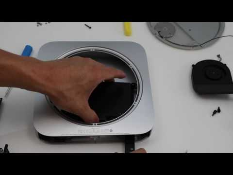 How to upgrade Mac Mini hard drive to Solid State- Late 2014 Model