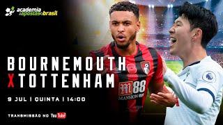 AFC Bournemouth vs Tottenham Hotspur Ao Vivo - Premier League / Acompanhamento