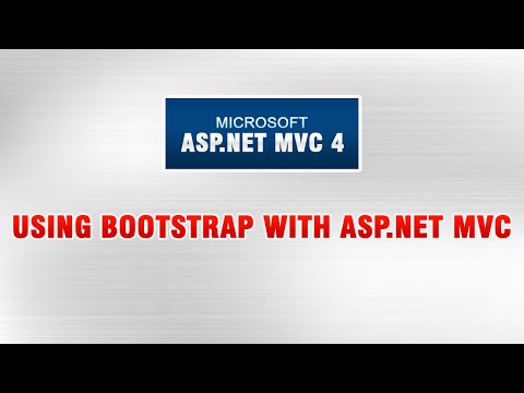 ASP.NET MVC 4 Tutorial In Urdu - Using BootStrap with ASP.NET MVC
