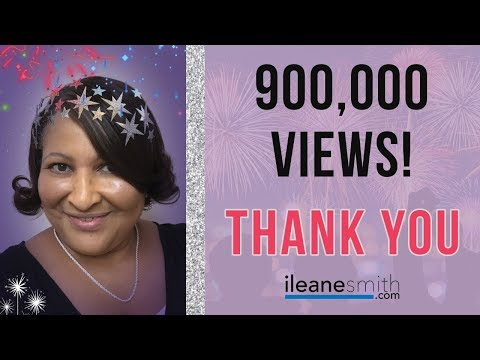 900,000 Views on YOUTUBE - THANK YOU!
