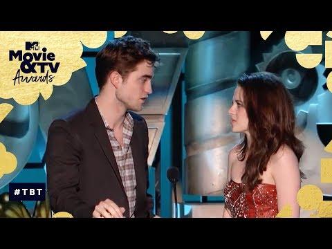 Robert Pattinson & Kristen Stewart Share the 'Best Kiss' Award | MTV Movie & TV Awards
