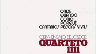 """Quarteto 1111 (Obra-ensaio de José Cid) """"Onde,Quando,Como,Porquê,Cantamos Pessoas Vivas"""" (1974)"""