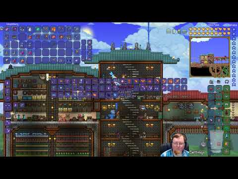 Terraria Expert Mode (World From Main Channel) • Taking A Look Around • (STREAM ARCHIVE)