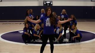 BYU Cougarettes Dancing the Wookiee -Pledge Wars