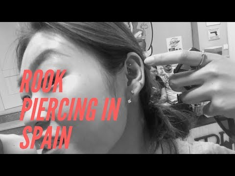 My rook piercing experience in SPAIN! Price, Healing & Cleaning
