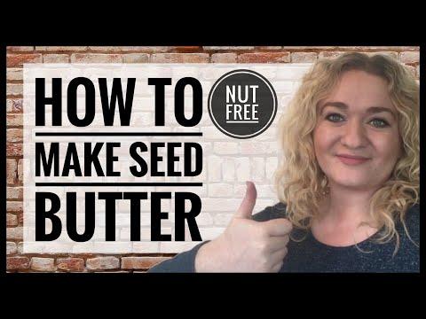 How To Make Vegan Nut Free Butter - Vegan Pumpkin Sesame and Hemp Seed Butter Recipe