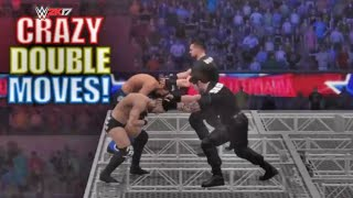 WWE 2K17 Crazy Double Moves #6 !