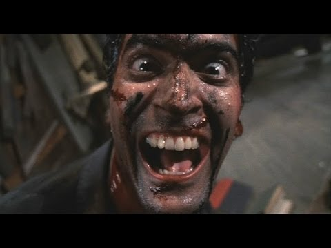 Evil Dead II Laughter Scene