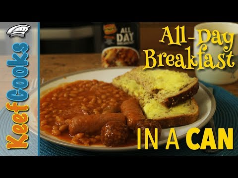 All Day Breakfast in a Can | Taste Test and Review