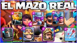 EL MAZO REAL - MAZO MIX #9 - CLASH ROYALE A POR TODAS - Español - CoC