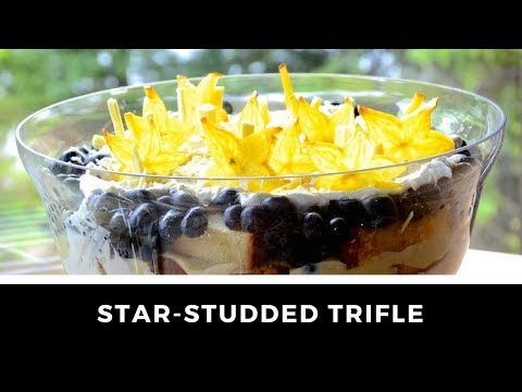 STAR-STUDDED RED WHITE AND BLUE TRIFLE recipe!