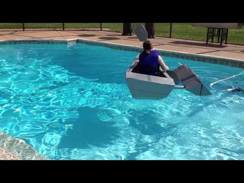 Cardboard & Duct Tape Boat