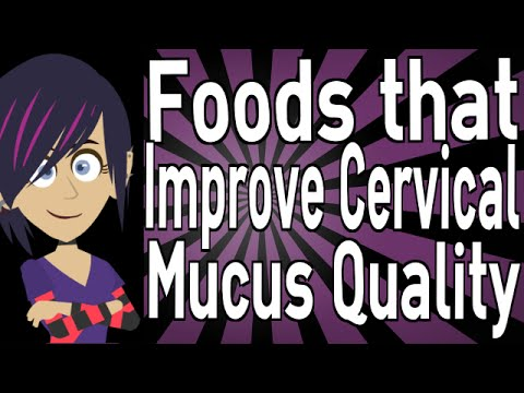 Foods that Improve Cervical Mucus Quality