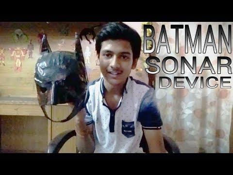 HOW TO MAKE BATMAN's SONAR DEVICE