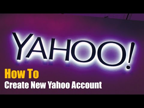 How To Create New Yahoo Account | Tutorial Video