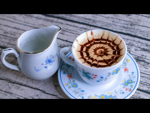 Homemade Cappuccino Without Machine | Cappuccino Recipe | How To Make Cappuccino At Home