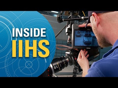 Inside IIHS: Crash test photography