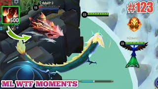 Mobile Legends WTF Funny Moments Episode 123 | Yu Zhong vs Aldous and Pharsa Funny Moments 😂😂😂
