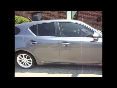 2013 Lexus CT 200  3M Window tint by Tint Pros 216-906-6084
