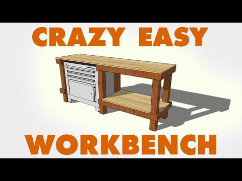 DIY Cheap & Easy Workbench Build