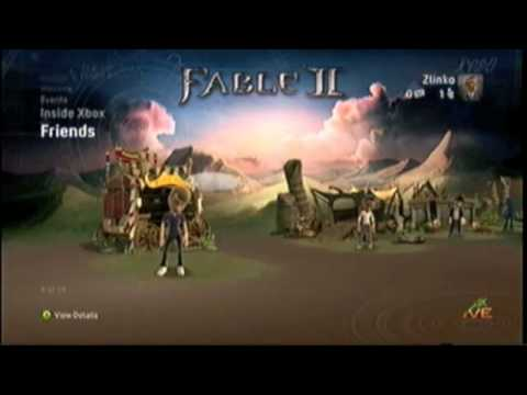 Xbox 360 - Fable II Albion Premium Theme