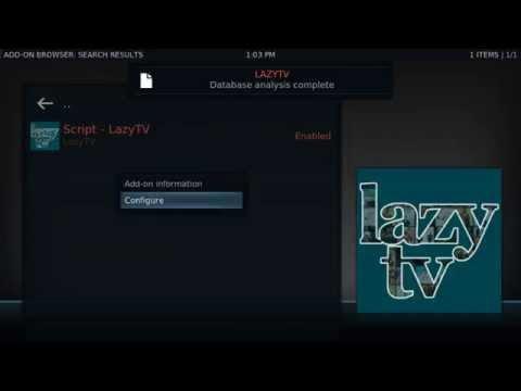 Kodi Lazytv Addon. Plays next episode automatically. kodi 17.4 Kodi 18 Leila