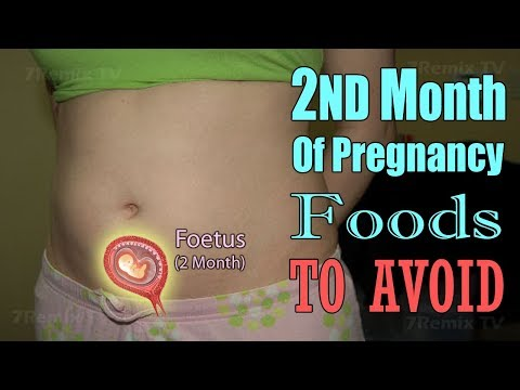 2nd Month of Healthy Pregnancy Diet, Which Foods You Should Avoid