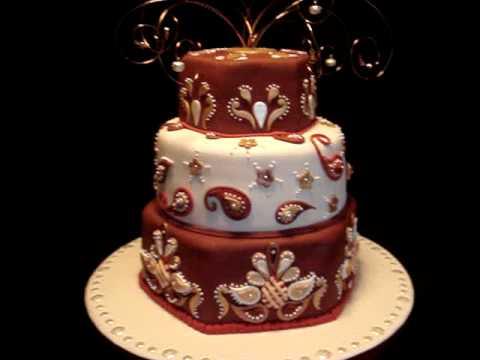 Indian Theme / India-Inspired Fondant Cake